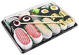 Rainbow Socks - Donna Uomo Calzini Sushi Tamago Butterfish Salmone 2x Maki - 5 Paia - Taglia 36-40