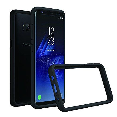 RhinoShield Coque Bumper Compatible avec [Galaxy S8] | CrashGuard - Housse Fine avec Technologie Absorption des Chocs - [Résiste aux Chutes de Plus de 3,5 mètres] - Noir