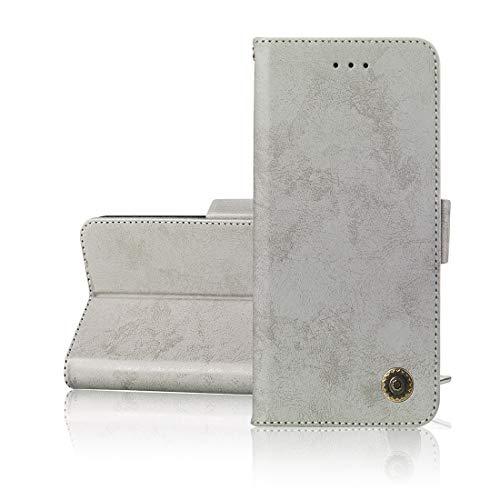 Lyzwn Sony Xperia XA2 Ultra Funda, Cuero PU Billetera Funda Flip Wallet Case Cover Carcasa con Cierre Magnético,Función de Soporte Incorporado para Sony Xperia XA2 Ultra
