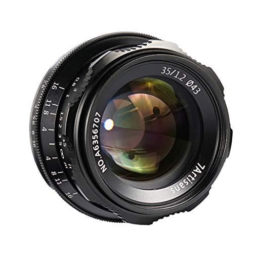 Shiwaki Lente Micro de Gran Apertura 35mm F1.2 para Canon