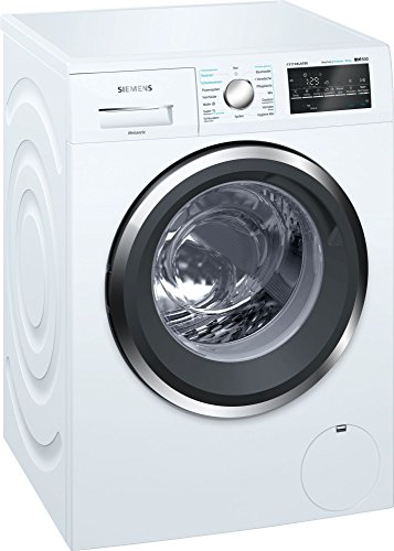 Siemens iQ500 WD15G493 Independiente Carga frontal A Blanco lavadora - Lavadora-secadora (Carga frontal, Independiente, Blanco, Izquierda, Botones, Giratorio, LED)