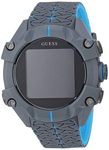 Guess Watches Gents Connect Reloj para Unisex Digital con Brazalete de Silicona C3001G3