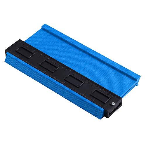 Breiter Konturlehre 25,4 cm Konturlehre Multifunktions präzise Kopieren unregelmäßige Formen für präzise Messung Fliesen Laminat Holz Markierwerkzeug (blau)