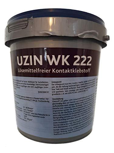UZIN WK 222 1kg Lösemittelfreier Kontaktklebstoff Neoprene-Klebstoff Wasserbasis