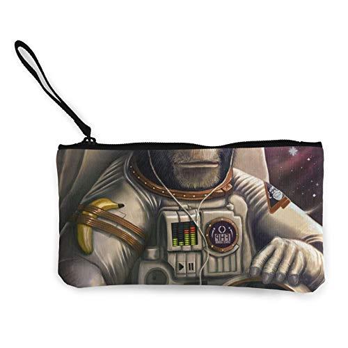 Moneda de lona, bolsa de cosméticos con cremallera, bolsa de maquillaje multifunción para teléfono móvil, bolsa de lápices con asa