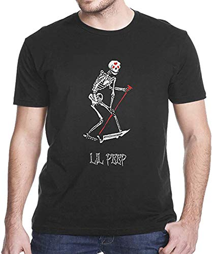 Li-l Pee-p Skelet-on Grim Reaper Tattoo and Official Design Classic T Shirt (Design 1 - Size: S-5XL)