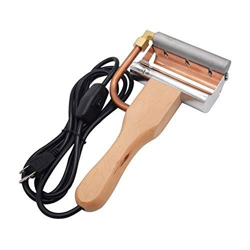 XINXI-YW Conveniente Equipo de la Apicultura eléctrico Desoperculador Cuchillo Miel Plano Mango...