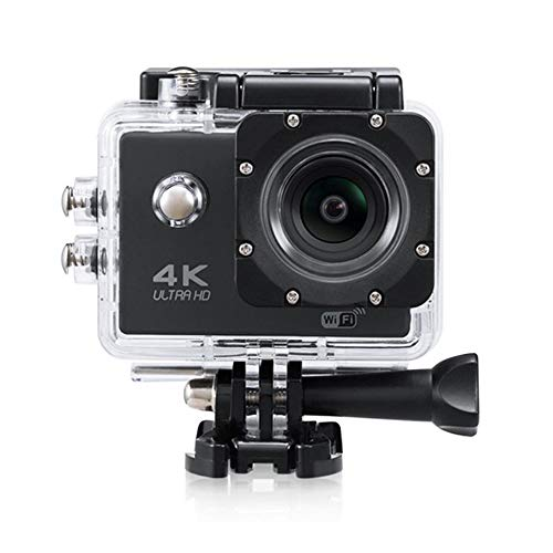 Nesolo 4K Action Camera Underwater Waterproof Camera 170° Wide Angle WiFi Sports Cam with Mounting Accessories Kit