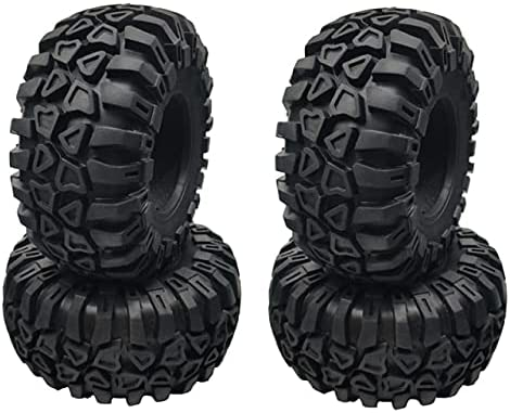 LSB-SHOWER 4PCS 2.2 Inch Rubber Tyre Tires Wheel 128X60MM fo Max Cheap SALE Start 63% OFF