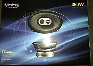 "$69 » Infinity PR9603ISH 6""x9"" 3-Way Primus Coaxial Car Audio Speakers 360 Watts Max 3-Ohm"