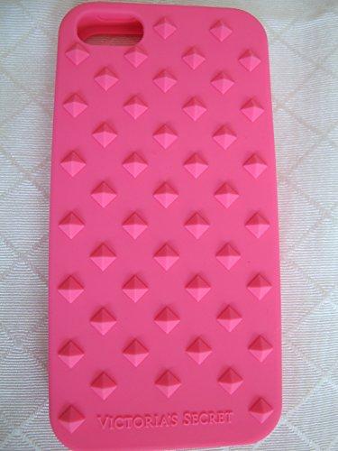 Victoria's Secret Hot Pink Stud Soft Case Iphone 5/5S/5C Cover