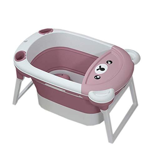 SMX Babybadje Bader Bad Pad, babybadje Seat Bad van de baby kussen Newborn Bath Ondersteuning Anti-Slip bad for 0-13 jaar