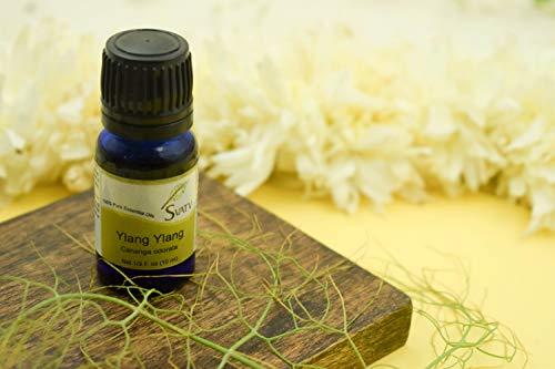 SVATV Aceite esencial de 10 ml (1/3 oz) de grado terapéutico de aromaterapia aceite esencial (ylang Ylang)