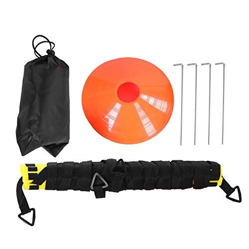 Wolfgo Agility Ladder-6m 12-Sectie Agility Speed Ladder Set voor Voetbal Ball Training Aid