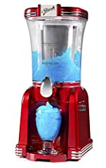 LARGE CAPACITY: This unit can hold up to 32 ounces of your favorite slush drinks, making it perfect for parties or large gatherings Salt & ice: all you need is crushed ice and salt to freeze your favorite sugar-based drinks and juices - then let the ...