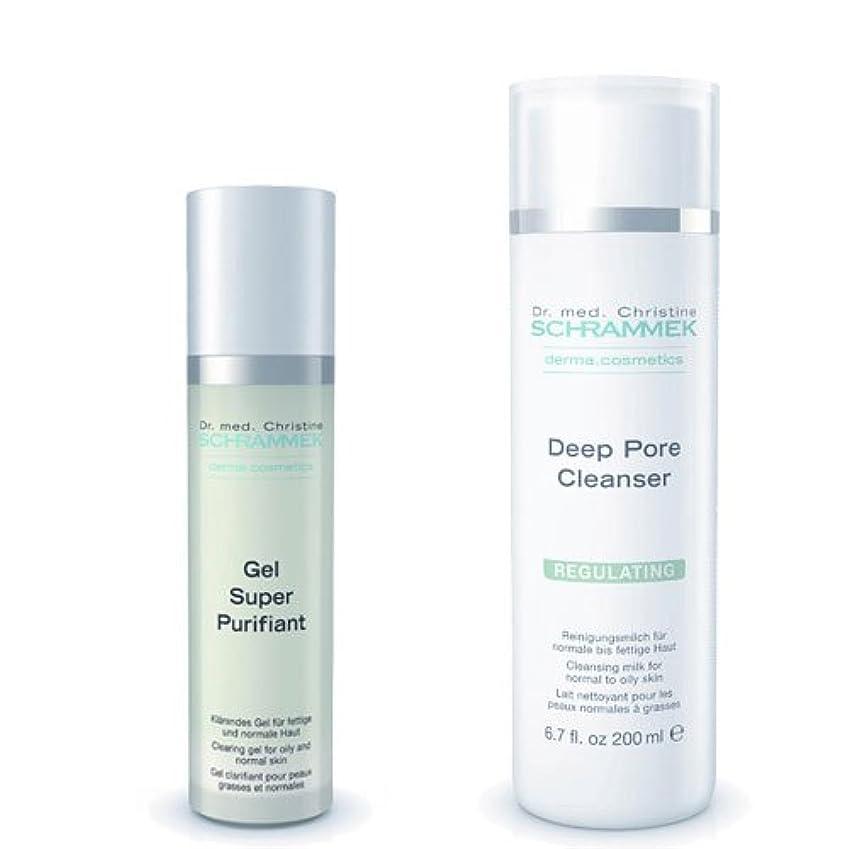 これまで割れ目暴露するシュラメック 「GREEN PEEL 洗顔2点セット(脂性肌用)」 ディープポアクレンザー&ジェルスーパーピュリフィアント