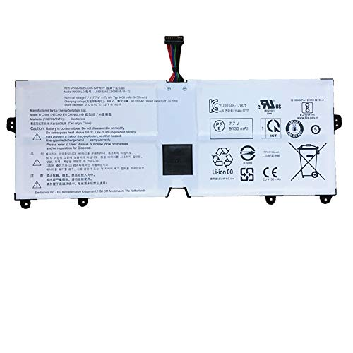 SUNNEAR LBS1224E 72Wh Battery Replacement for LG Gram 13 13Z980 13Z990 Gram 2018 14 14Z980 14Z990 15Z980 15Z990 17Z990 Series Laptop 7.7V 9450mAh