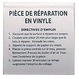 GRUPOSANZ Kit reparación Piscinas: Caja de Parches para Piscinas de Vinilo. 5 Uds. Ref 3881