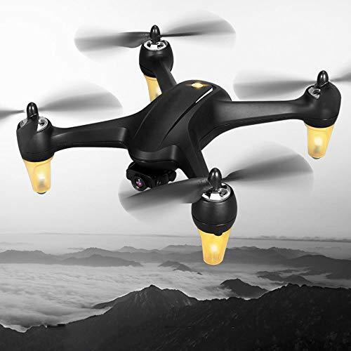 Mawwanta RC Drone, Nivel de Entrada sin escobillas Transmisión de Imagen GPS HD Axis de Altura Fija Aéreo Remoto Aéreo No tripulado Vehículo aéreo Drone, para Profesión de Inicio Shoot