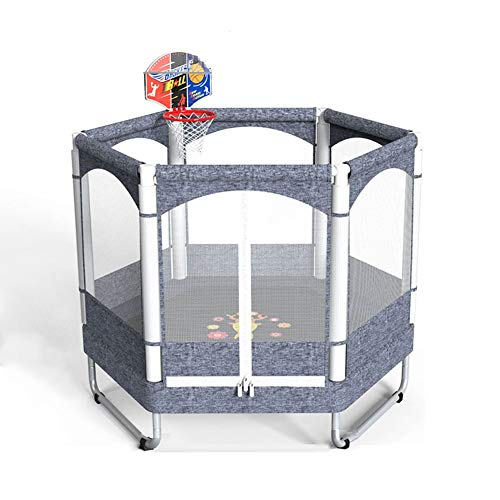 TRAMPOLINE AGYH 50in Children's, 3 U-shaped Legs, Encryption Protective Net, Sports And Fitness Toys At Home And Amusement Park, Load 150kg