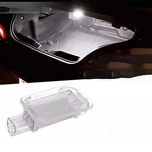 2 uds luces LED blancas de alto brillo para maletero de equipaje lámpara de compartimento de equipaje para Honda Accord City Civic CR-Z FR-V Insight Fit