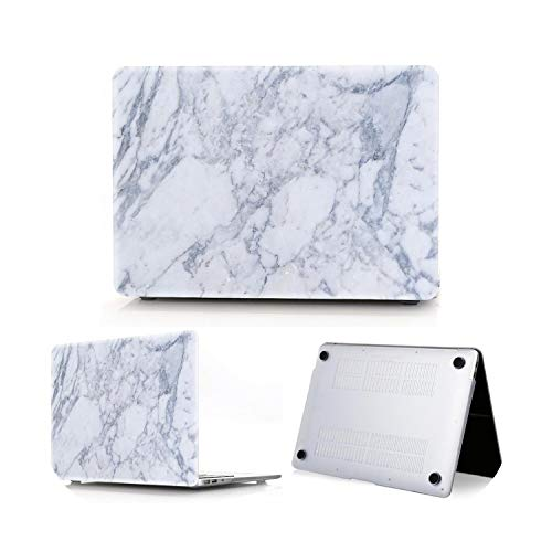 Peach-Girl Hard Shell Case for Macbook Air 13 A2179 Marble for Macbook Pro 16 A2141 Pro 13 A2289 A2251 Retina 15 Touch Bar ID Blue Model A1466 A1369