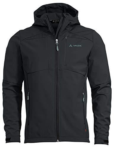 VAUDE Men's Miskanti Softshell Jacket II Chaqueta, Hombre, Phantom Black, L