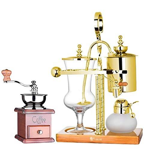 Vacuum Siphon Coffee Maker, Royal Coffee Pot Vacuum Siphon Coffee Machine (Color : B)