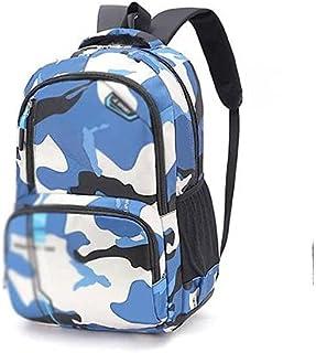 Fmdagoummzibeib Backpack, Blue Camouflage, Water Insubordinate College School Computer Bag Gifts, Business Anti Theft Slig...