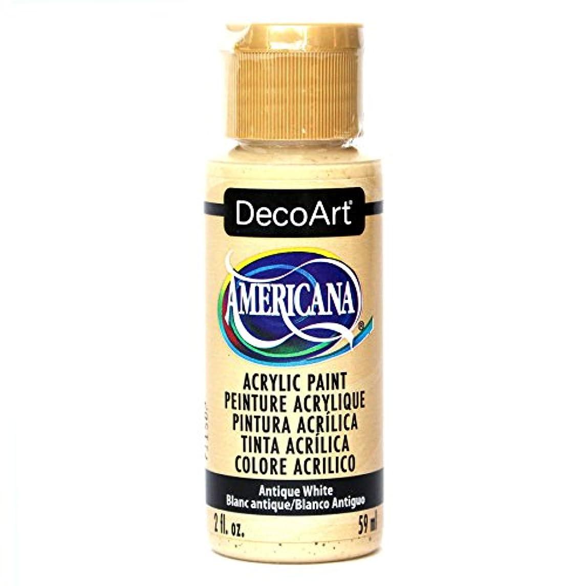 DecoArt Americana Acrylic Paint, 2-Ounce, Antique White