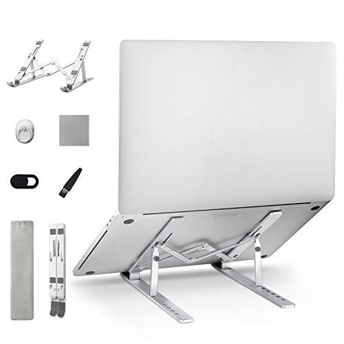 Pango aleación de aluminio portátil plegable portátil soporte ajustable portátil Raiser base para portátil