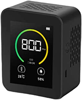 Tester Meter for CO2, Co2 Detector Sensor Gas Concentration Content Color Screen TFT Intelligent Air Tester Air Quality Mo...
