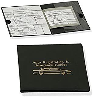 Sterling Sports Auto Insurance and Registration Holder - Protects Documents and is Easy To Locate