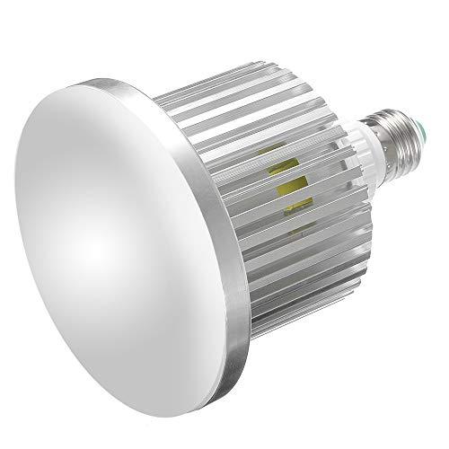 Hersmay 5500K-3200K Dimmbar E27 LED Videolicht Softbox Studio Dauerlicht Kit für Kamera Foto Video Fotografie mit drahtloser Fernbedienung