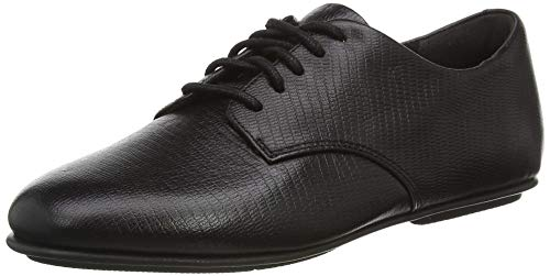 Fitflop ADEOLA Lace UP Derby-Lizard Mix, Oxford Mujer, Negro (All Black), 39...