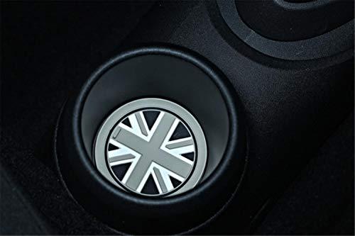 xiaobobo Alfombrilla Antideslizante para Mini Cooper Cup Mat Accesorios de diseño de...