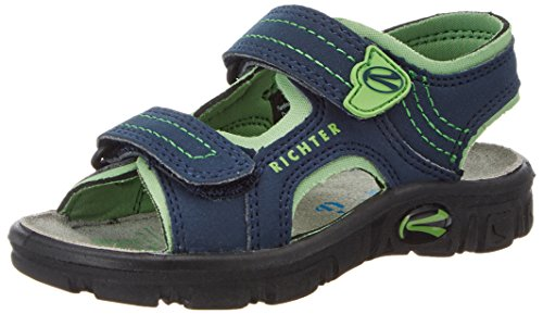 Richter Kinderschuhe Jungen Adventure Sandalen, Blau (Atlantic/Apple), 32 EU
