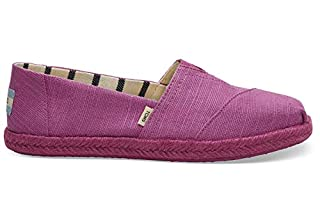 TOMS Women's Alpargata Espadrille, Size: 6.5 B(M) US, Color: Rose Violet Heritage Canv (B07FYM9JFG) | Amazon price tracker / tracking, Amazon price history charts, Amazon price watches, Amazon price drop alerts