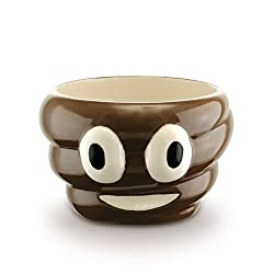 KOVOT Poop Bowl - 24 Oz Ceramic Poop Emoji Bowl