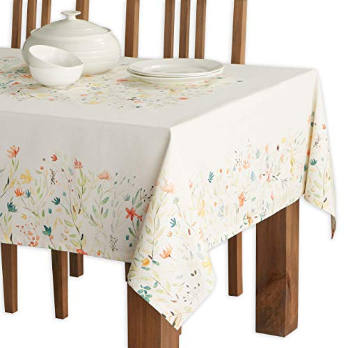 Maison d Hermine Colmar 100% Cotton Tablecloth 54 - inch by 72 - inch.