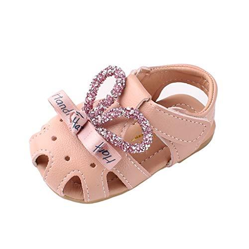 WINJIN Sandales Bébé Filles Chaussures de Princesse Chaussures D'été pour Enfants Plate Sneakers Baskets Mode Casual Sports Plage Mules Premiers Pas Infant Girls Toddler