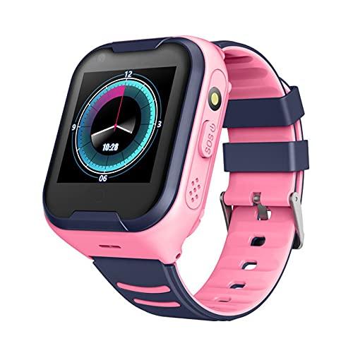 Smartwatch para Niños con Función De Llamada Y SOS, Reloj Inteligente para Niños A Prueba De Agua, Pantalla Táctil, Reloj Inteligente para Niños Adecuado para Regalos para Niños De 3 A 12 Años