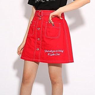 ピンク ラテ(PINK latte) スカート(★ニコラ掲載★配色ステッチ スカート)