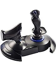 Thrustmaster 262791 T.Flight Hotas 4 Bedieningshendel Voor Pc/Playstation 4, Zwart/Blauw Pc