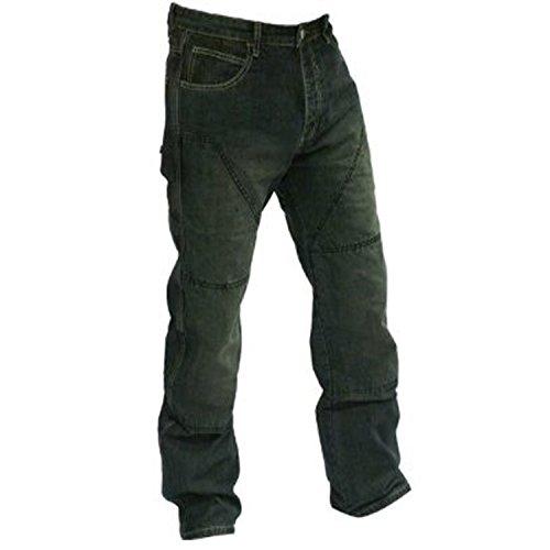 Preisvergleich Produktbild Juicy Trendz® Herren Motorradhose Manner Motorradjeans Denim Motorrad Hose Mit Protektoren