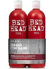 Tigi Bed Head Resurrection Tween Duo - Confezione da 2 x 750 ml (Shampoo riparatore 750 ml e Balsamo 750 ml)