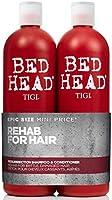 Bed Head Tigi Urban Antidotes Resurrection - Kit Shampoo 750ml + Condicionador 750ml