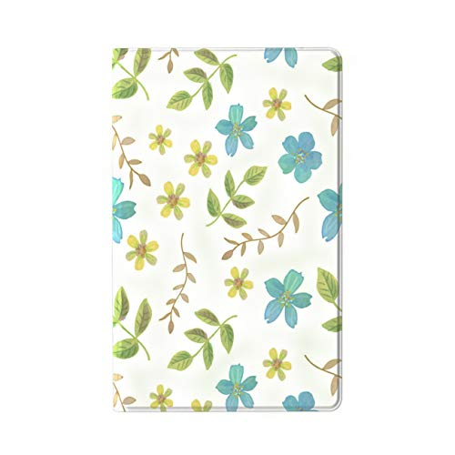 Galaxy Tab A 8.0 2019 Case T290 T295, Suprin Slim Lightweight Folio Stand Premium PU Leather Case Soft TPU Back Cover for Galaxy Tab A 8.0 Inch 2019 Tablet SM-T290/T295, Little Flower