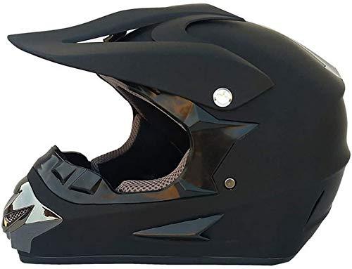ZGYZ Casco de Motocicleta Motocross - - Casco de Choque Todoterreno Cascos ATV Enduro MTB Quad MX Moto Bike (S, M, L, XL)