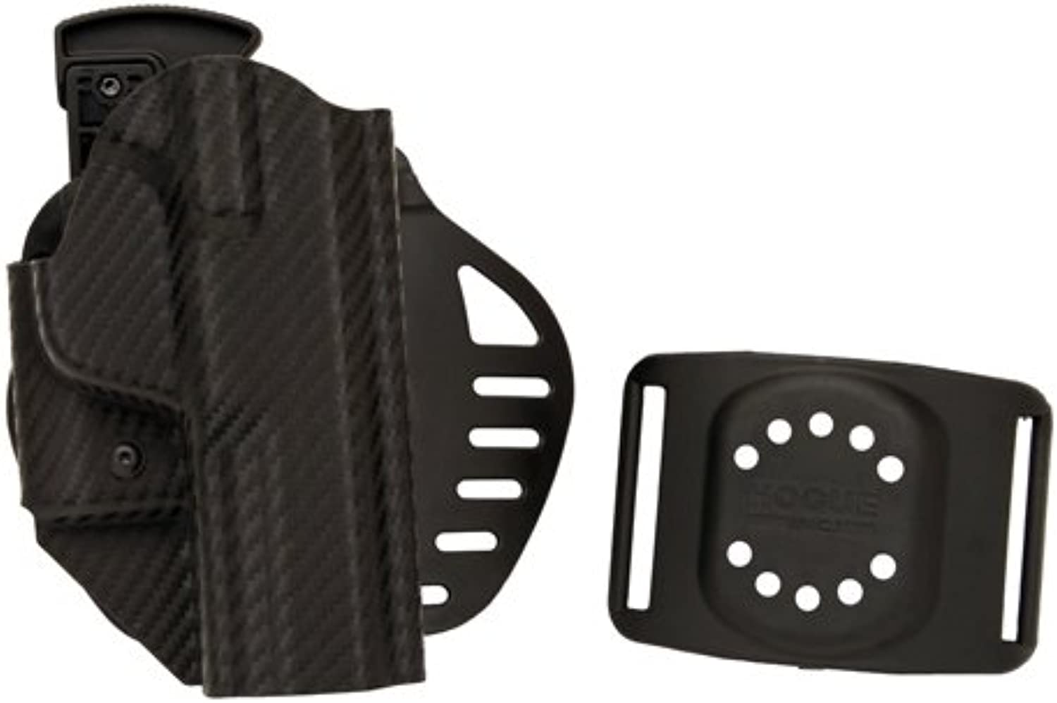 Hogue Powerspeed ARS Stage 1 CarbonFiber Weave Holster, C12, S&W M&P 9, Right Hand